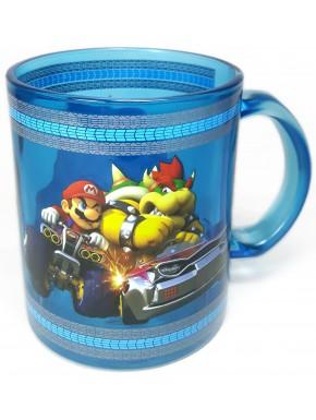 Taza Cristal Super Mario Kart