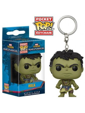 Llavero mini Funko Pop! Hulk Ragnarok Casual
