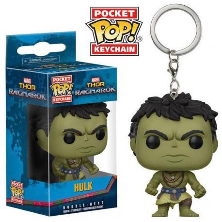 Llavero mini Funko Pop! Hulk Ragnarok Casual
