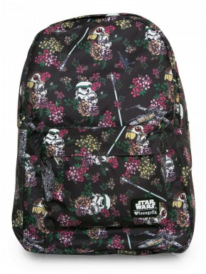 Mochila Loungefly Star Wars flowers