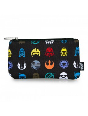 Estuche Loungefly Star Wars icons