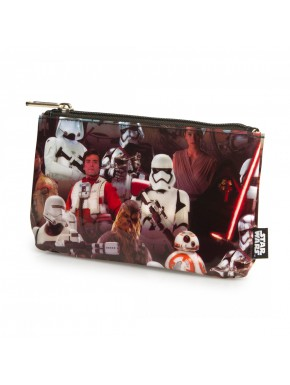 Estuche Loungefly Star Wars characters