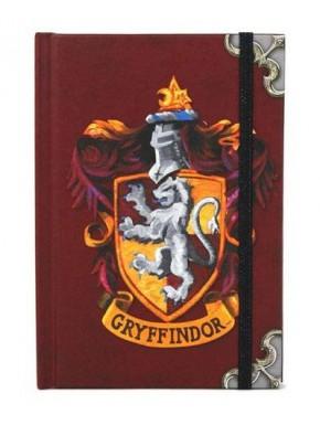 Libreta Vintage A6 Harry Potter Gryffindor