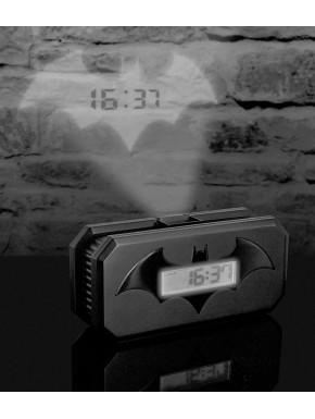 Despertador con Proyector Batman Logo