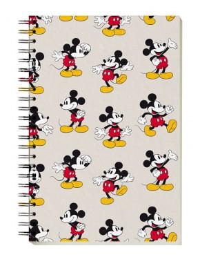 Cuaderno Espiral Disney Mickey Mouse