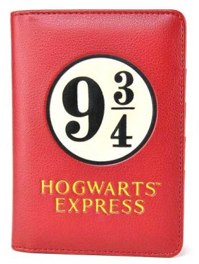 Cartera Pasaporte Harry Potter Andén 9 y 3/4