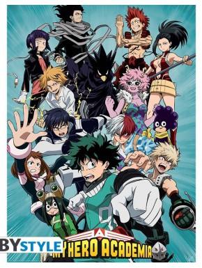 Poster My Hero Academia Personajes
