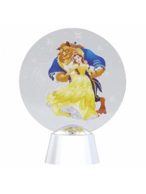 Adorno Luminoso La Bella y la Bestia Disney Holidazzlers 11 cm