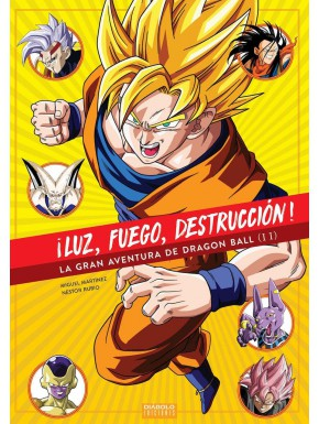 ¡Luz, Fuego, Destrucción! La gran Aventura de Dragon Ball Vol.2