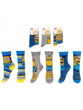 Calcetines de niño Minions