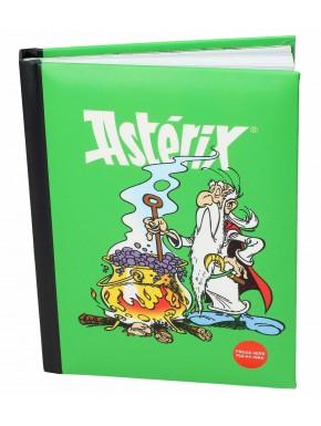 Libreta con Luz Panoramix Asterix el Galo