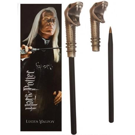 Set bolígrafo y marca páginas Mortífago Harry Potter