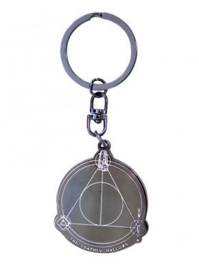 Llavero metal Reliquias de la Muerte Harry Potter