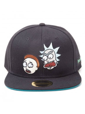Gorra Béisbol Ricky and Morty Big Faces
