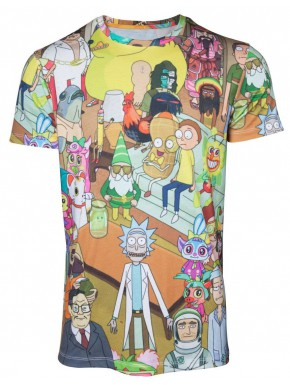 Camiseta Ricky and Morty Wasted