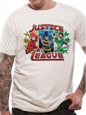 Camiseta Liga de la Justicia DC Comics Trío