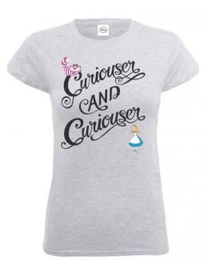 Camiseta Chica Disney Alicia Curioser & Curioser
