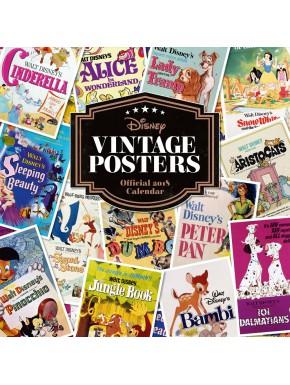 Calendario pared 2018 Disney Vintage