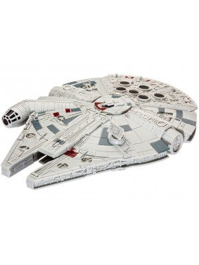 Star Wars Episode VII Maqueta Build & Play con luz y sonido Millennium Falcon 20 cm