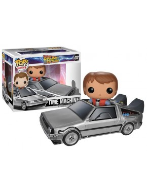 Funko Pop Delorean Regreso al futuro