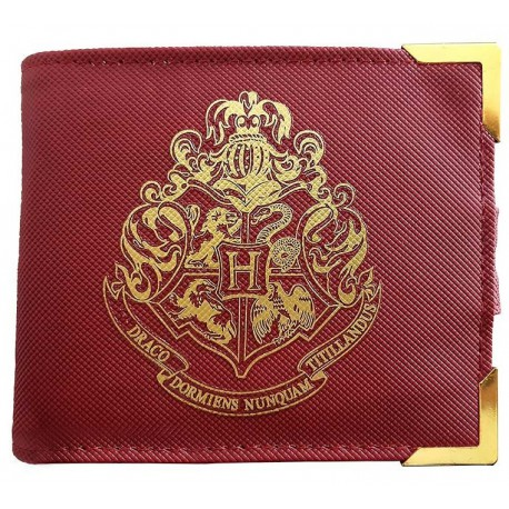Cartera Deluxe Harry Potter Hogwarts Golden