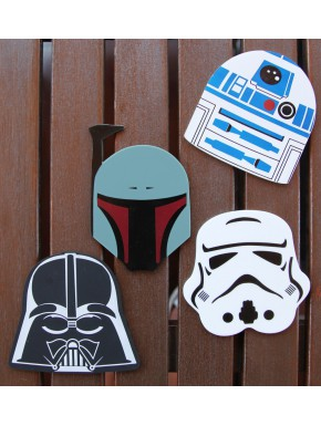 Pack 4 Posavasos Star Wars