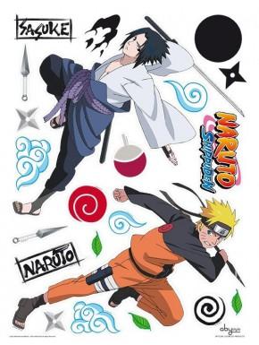 Set pegatinas Naruto Shippuden x2