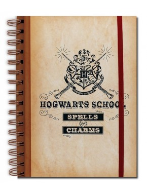 Libreta A5 Harry Potter Hogwarts List