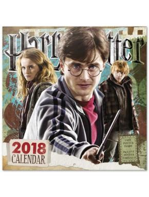 Calendario pared 2018 Harry Potter 30x30
