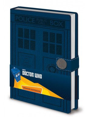 Libreta Premium A5 Doctor Who Tardis