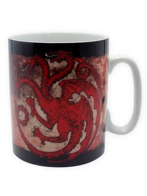 Taza Grande Juego de Tronos Targaryen Fire and Blood
