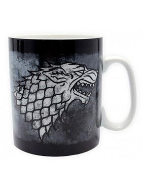 Taza Grande Juego de Tronos Stark Winter is Coming
