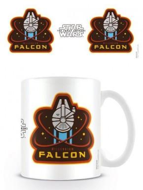 Taza Halcón Milenario Star Wars VIII