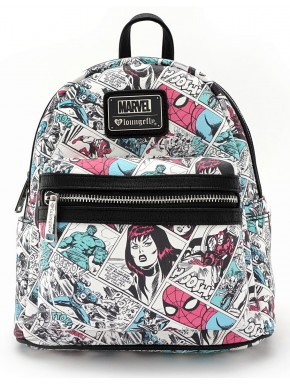Mochila Pequeña Marvel Comics Loungefly