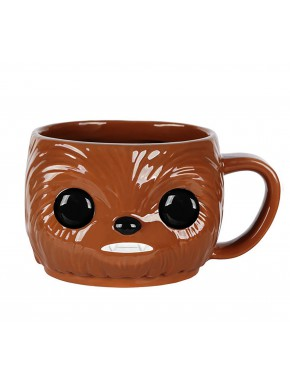 Taza Funko Pop! Chewbacca Star Wars