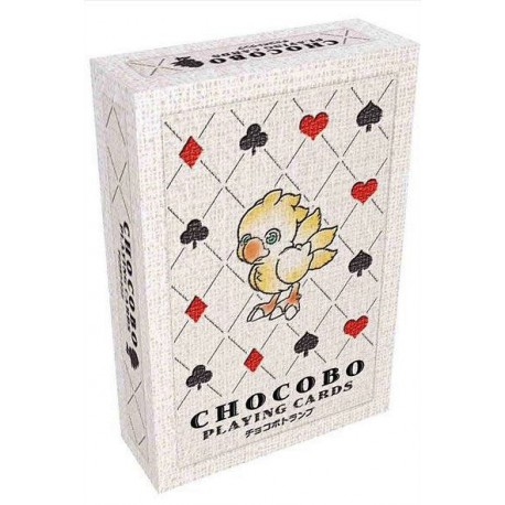 Baraja Poker Final Fantasy Chocobo