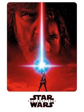Poster Star Wars VIII Kylo y Luke
