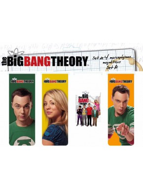 Set Marcapáginas magnéticos de Big Bang Theory