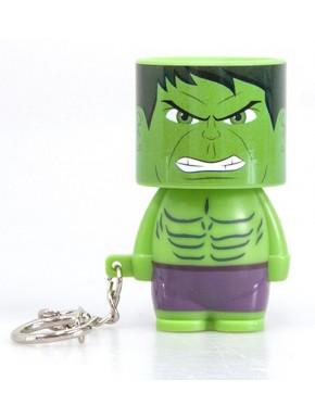 Llavero linterna LED Hulk