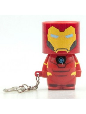 Llavero linterna LED Iron Man