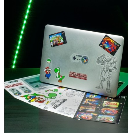 Set pegatinas Vinilo Super Nintendo