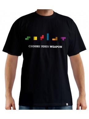 Camiseta Tetris Choose your weapon
