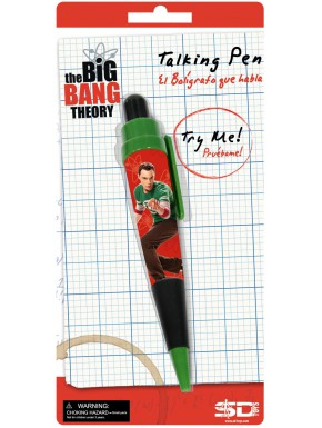 Boligrafo parlante Big Bang Theory Sheldon