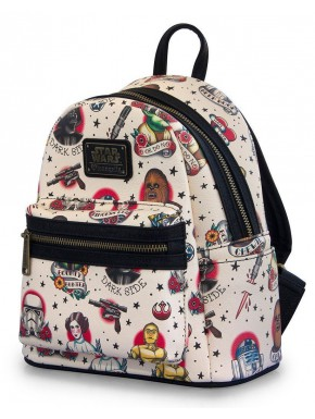 Bolso mochila Loungefly Star Wars tatoo