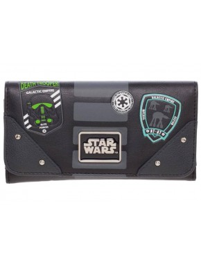 Cartera Billetera Star Wars Imperial Patches