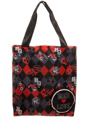 Bolsa Plegable Harley Quinn DC Comics