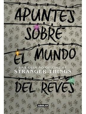 Libro Apuntes Sobre el Mundo al Revés Stranger Things