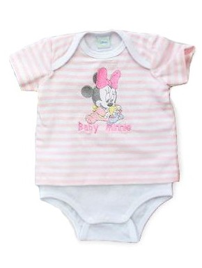 Body bebé Disney Minnie Mouse
