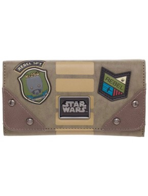 Cartera Billetera Star Wars Rebel Patches