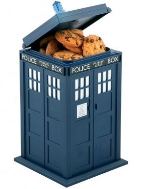 Galletero Doctor Who Tardis con luz y sonido